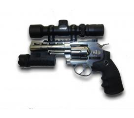 Pack Dan Wesson chromé 4'' CO2 GNB 1,8j