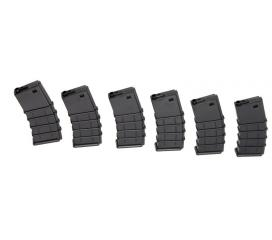 Chargeur M16 Thermold 130rd (Pack de 6)