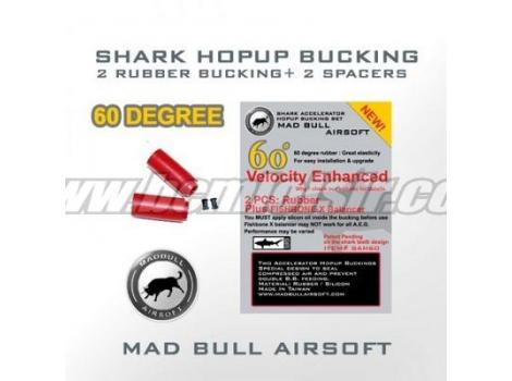 Joints hop-up Mad bull rouge (x2)