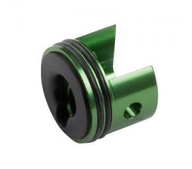 Tête de cylindre aluminium vers. 6 hexachrome(verte)