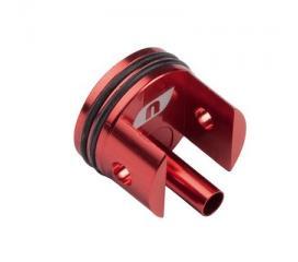 Tête de cylindre aluminium vers. 7 (rouge)