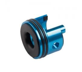 Tête de cylindre aluminium vers. II (bleue)