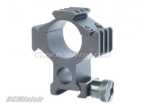 Collier multi rail picatinny metal 25,4 mm et 30 mm