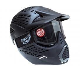 Masque Elite headshield single black