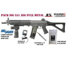 SIG 551 swatt AEG full metal ics