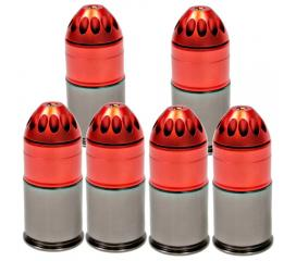 Pack de 6 grenades 120rd King Arms