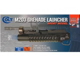 Lance-grenade m203 court + grenade 18rd + 3 adaptateurs