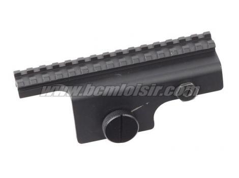 Rail de montage métal pour série M14