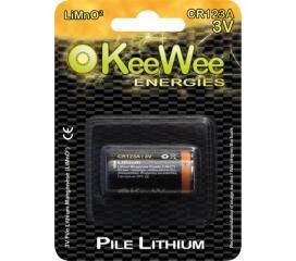 Piles Lithium Manganese Cr123 A