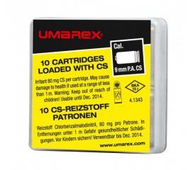 10 cartouches à gaz 9 mm PA