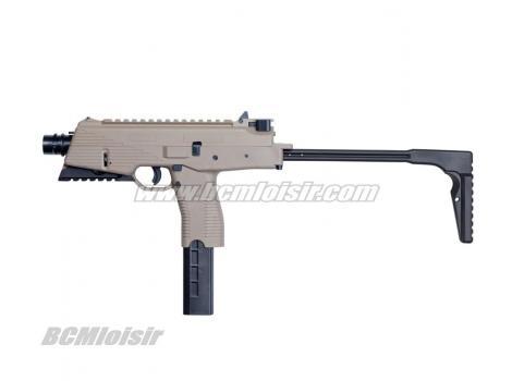 MP9 A3 B&T gaz blowback full metal Tan