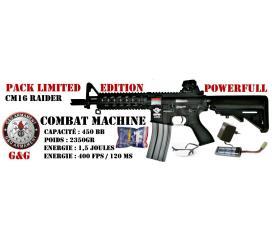 Pack CM16 Raider carbine combat machine by G&G