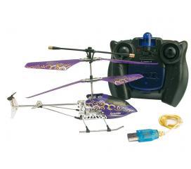 Nanocoptere 3G birotor electrique violet