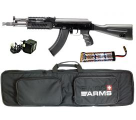 Pack AK 104 full metal blowback + Accu + chargeur + housse