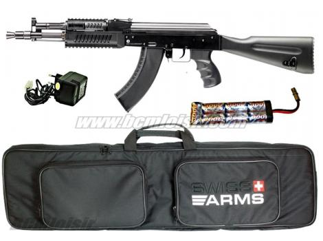 Pack AK 104 full metal blowback + Accu + chargeur + housse