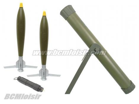 Mortier Hades Arrow 70 mm Hakkotsu APS Co2 et water rocket