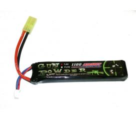 Batterie LI-PO, 7,4v Mini Stick 1100 mah