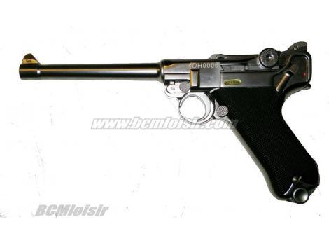 Luger P08 M full metal chrome GBB WE