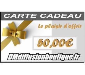 Carte Cadeau Airsoft d'une valeur de 50,00 €