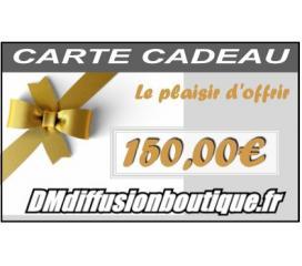 Carte Cadeau Airsoft d'une valeur de 150,00 €