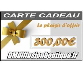 Carte Cadeau Airsoft d'une valeur de 300,00 €