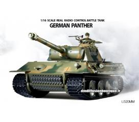 German Panther Tank RC 1/16