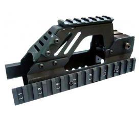 Garde main R.I.S OT aluminium pour P90 series