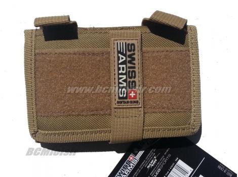 Portefeuille avec rangement pour portable tan Swiss Arms