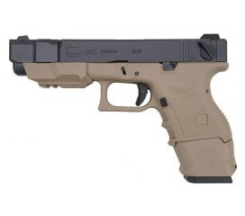 G26C Advance Generation III Tan metal slide GBB WE
