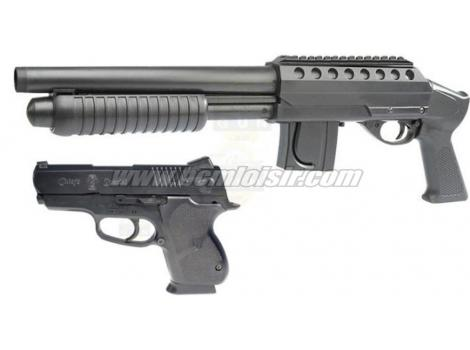 Pack M 500 Mossberg grip model + Pistol M45 Tactical Kit