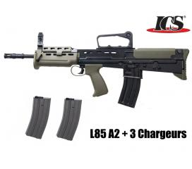 L 85 A2 Carbine Full Metal Blowback Pack Complet by G&G