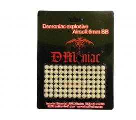 Billes explosive de 6mm DMoniac sachet de 91 pieces