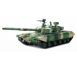 ZTZ 99 MBT Char RC 1/16 2,4 ghz Complet Bruit et Fumée