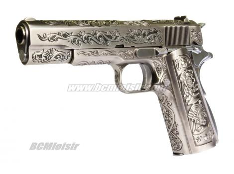 WE 1911 full metal Silver Classic Indian Pattern GBB