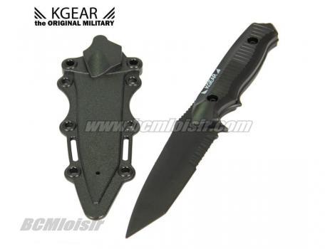 Couteau MH141 commando noir + étui factice en plastique