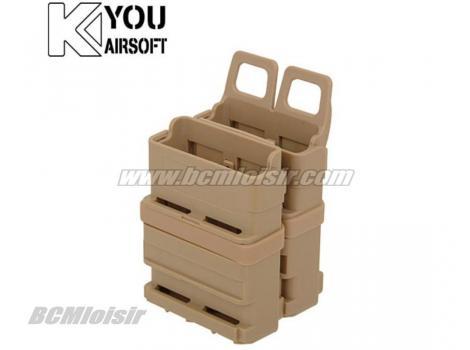 Porte Chargeur Gen 2 FastMag Molle pour M4 Famas AK