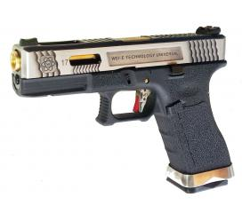 G17 G-Force T3 Metal Slide Silver Gold Black GBB WE