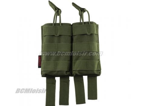 Pochette PMC Double Chargeur M4 Molle MP Olive
