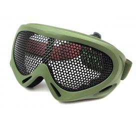 Masque de protection tactical grillagé Camo Nuprol Norme CE