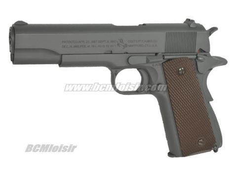 Colt M1911 A1 Parkerised Grey Full Metal CO2 Blowback