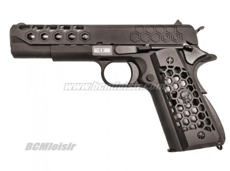 M1911 Hex Cut Full Metal Bck Custom GBB WE 0,9 J