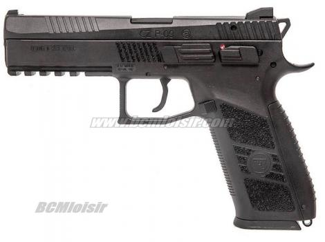 CZ P09 Tactical Gaz Blowback Textured Grip