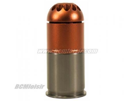 Grenade 40 mm billes 6 mm 96 shots Nuprol