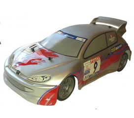 Peugeot 206 WRC TL01 Tamiya 4X4 1/10 RTR
