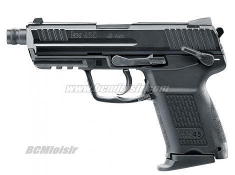 Heckler & Koch HK45CT Metal Slide Gaz Blowback VFC