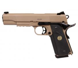 1911 MEU STS7 Spartan Full Metal Gaz Blowback KJW