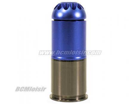 Grenade 40 mm billes 6 mm 120 shots Nuprol