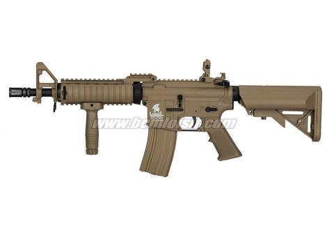 M4 RIS CQB LT02 C Gen 2 MK18 MOD0 Tan Lancer Tactical AEG Pack Complet