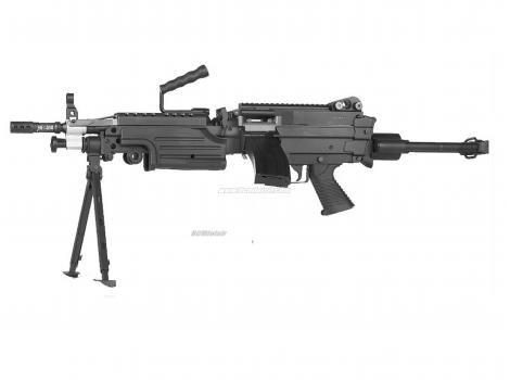 M249 Paratrooper Full Metal Classic Army AEG 1,1 J Pack Complet