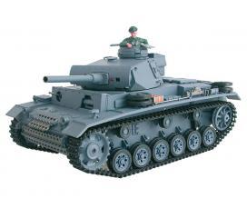 Char d'assault SdKfz 141 Panzerkampfwagen III Pack complet bruit et fumée